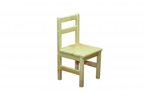 Children chair: frame-natural tree(pine), height group №1