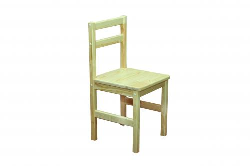 Children chair: frame-natural tree(pine), height group №3