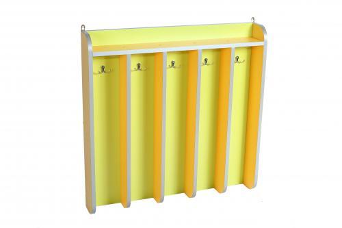 Towel rack for 5 hooks